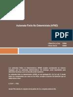 Automata Finito No Determinista (AFND)