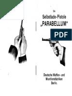 Die Selbstladepistole Parabellum DWM Berlin