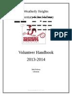 Volunteer Handbook