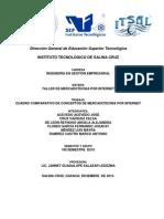 Cuadro Comparativo de Conceptos de Mercadotecnia Por Internet