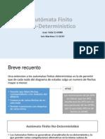 Presentación NFDA de Teoría de Automatas
