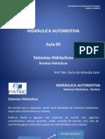 Hidraulica Automotiva - Aula 5 - Bombas
