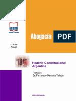 1o Ano - Historia Constitucional Argentina - UCASAL