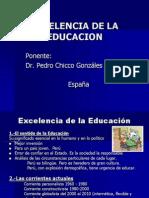 Excelencia de La Educacion