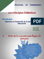 Principios Didaticos