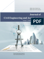 Issue 11, 2013 Journal of Civil Engineering and Architecture