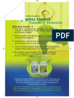 Bowel Biotics Brochure