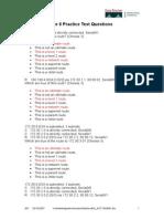 CCNA2 Chap8 Practice Test questions