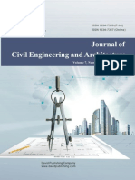 Issue 10, 2013 Journal of Civil Engineering and Architecture