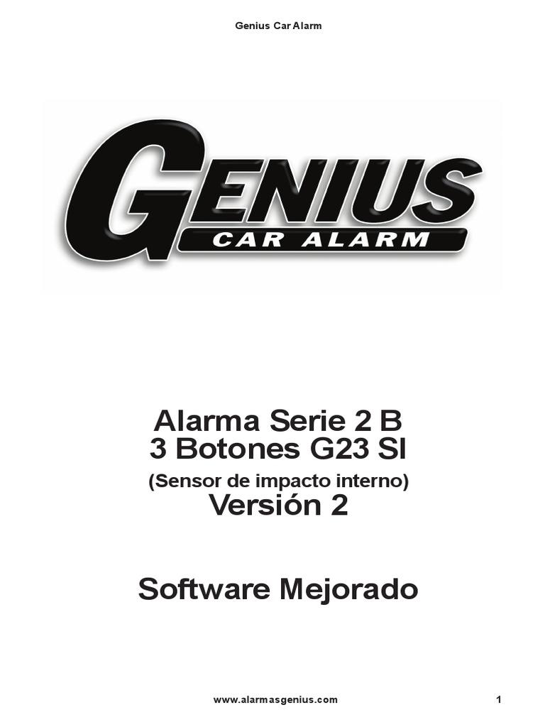 Alarma Genius 2B 3bot Si V2