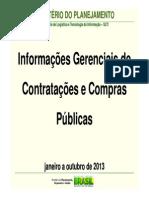 01 a 10 Informativo Comprasnet Dados Gerais 2013