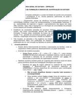 Tópicos MODELOS DE FORMAÇÃO E MODOS DE JUSTIFICAÇÃO DO ESTADO - Zippelius