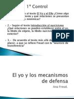 El Yo y Los Mecanismos de Defensa