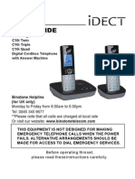 Phone Idect c10i User Guide