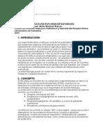 Protocolo Intoxicación por Organofosforados 2013