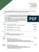 cassandragreve portfolioii resume2014