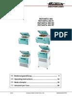 Hettich Rotanta 460-User Manual