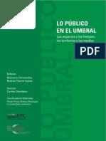 Libro Lo Publico en El Umbral