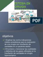 Anestesia en Cirugia Laparoscopica