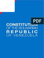 Venezuelan Constitution in English