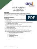 algebra i syllabus v12-13