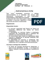 Concurso Astronomia e Arte