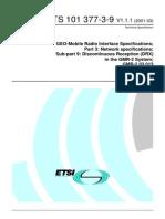 Geo mobile radio network specifications