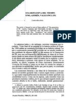 8. VIVENCIA REFLEXIVA DEL TIEMPO (UN AMUNO, AZORÍN, VALLE-INCLÁN), CARLOS BALIÑAS