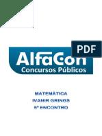 MATEMÁTICA 5° ENCONTRO 14-12-12