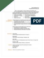 daniel cluff educational resume