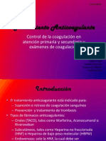 Tratamiento Anticoagulante PPT
