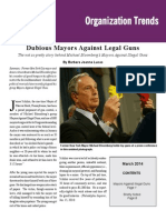 Dubious Mayors Against Legal Guns