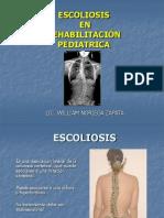 Clase de Escoliosis en Rehabilitacion Pediatrica