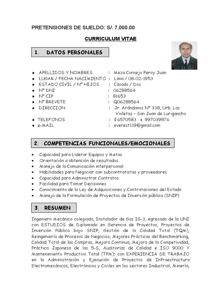 Perfecto Supervisor De Soldadura De Curriculum Vitae Imagen ...