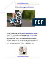Select Best Running Shoes for Women