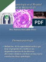 La Dermatopatología en el Hospital General de México