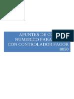 Apuntes Generales Torno Fagor 8050