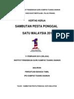 Kertas Kerja Ponggal 1 Malaysia