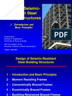 Design of Seismic Resistant Steel Building Structures 107p