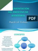 Documentación del proceso de Auditoria