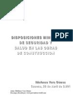 Administracion - Disposicones Minimas de Seguridad en Construccion
