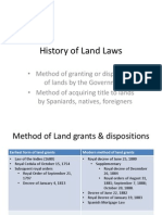History of Land Laws_Arrha