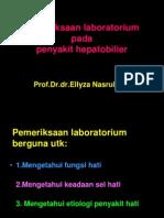 Pemeriksaan Lab Hepatobilier