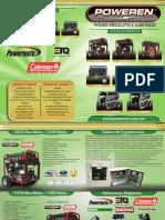 Catalogo de Productos Poweren Verde