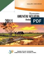 Kca Amuntai Selatan Dalam Angka2011