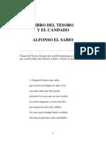 Alfonso X El Sabio - Libro Del Tesoro Y El Candado