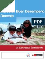 MARCO DE BUEN DESEMPEÑO DOCENTE