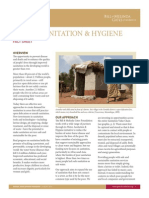 Water Sanitation & Hygiene