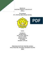 Proposal Pkl Pt. Arun