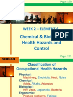 IGC2 Elem 6 (Chemical and Biological Health Hazard Control)